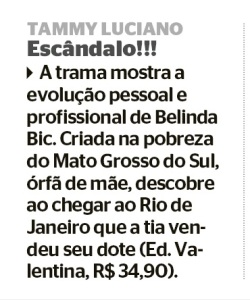 Jornal Extra - Escandalo set 2015
