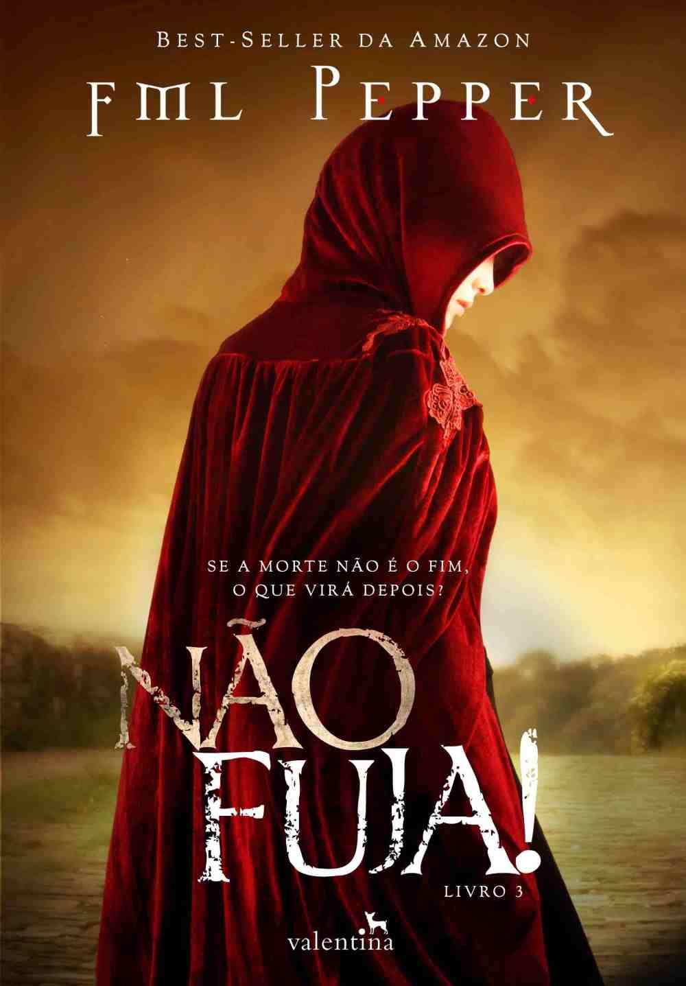 Capa Não Fuja release