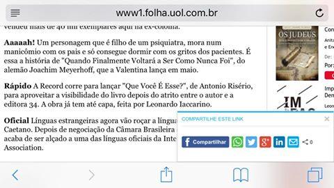 nota Folha