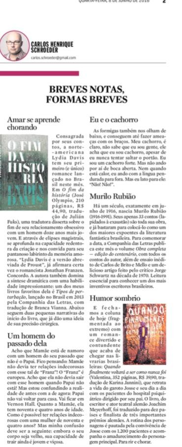 diario catarinense junho 2016