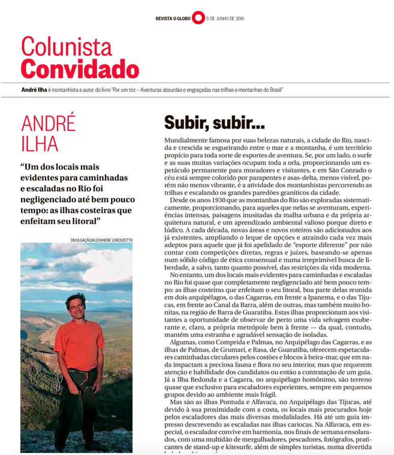 Revista O Globo junho