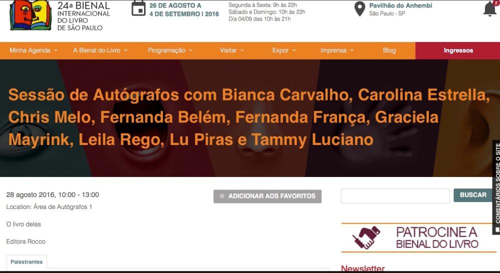 site bienal evento